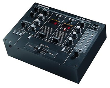 Pioneer DJM 300 2 Channel Mixer