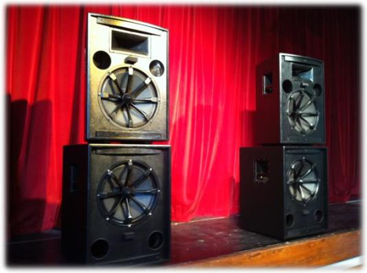 our band sound system package for medium sized venues (audiences of up to 300-400 people)