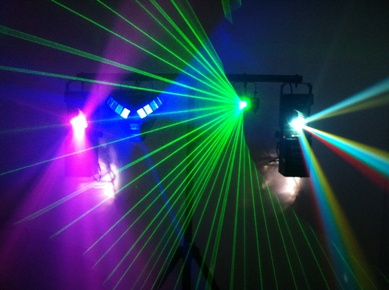 academy audio disco club band and stage lighting and effects